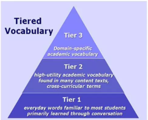 Tiered vocab